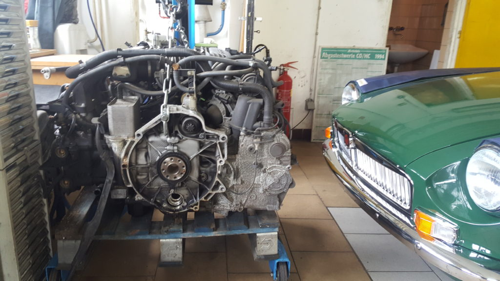 Generálna oprava motoru Porsche 911