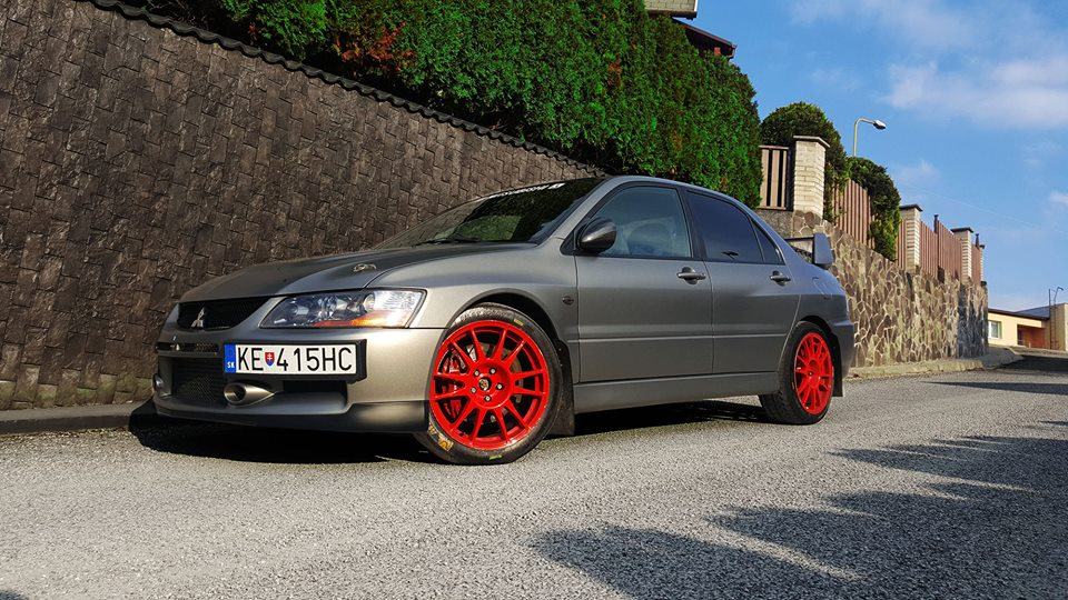 Mitsubishi Lancer Evolution IX MR edition